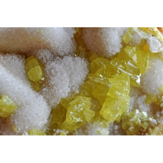 Native Sulphur & Celestine