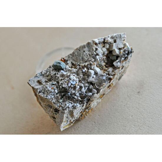 Pyrophanite Spessartine & Smoky Quartz
