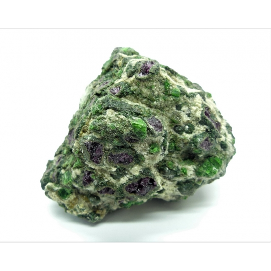 Pyrope Chromian Diopside & Forsterite