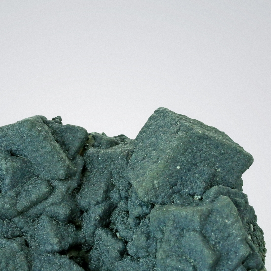 Malachite With Mottramite On Calcite