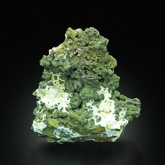 Mottramite With Calcite