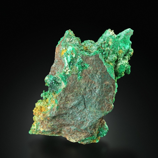 Malachite On Cuprite