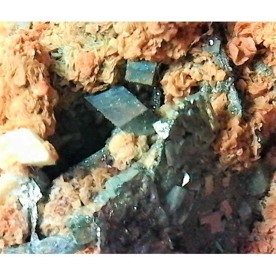Pyrrhotite Pyrite Siderite & Galena