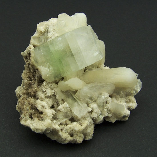 Fluorapophyllite & Heulandite