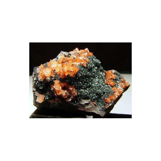 Quartz & Fluorite On Hematite
