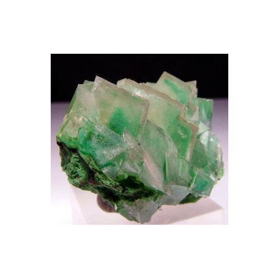 Calcite Duftite & Dioptase