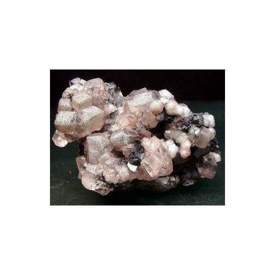 Cobaltoan Smithsonite & Galena