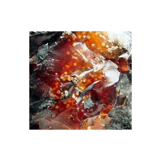 Manganite & Chalcedony