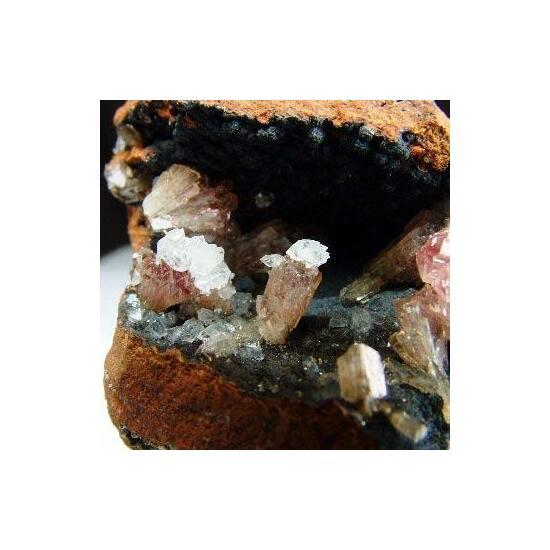 Manganoan Adamite With Calcite