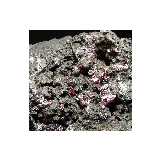 Proustite Native Silver & Native Arsenic