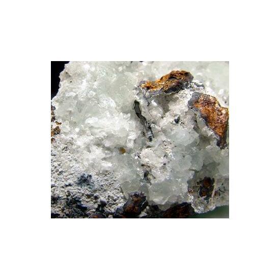 Smithsonite & Hydrozincite