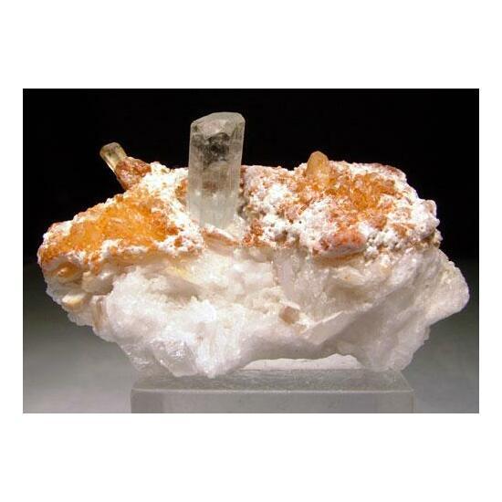 Aquamarine & Hyalite