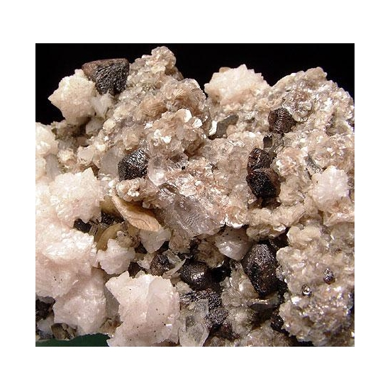 Cassiterite Dolomite & Siderite
