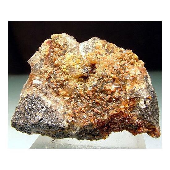 Fluorite Smithsonite & Cerussite