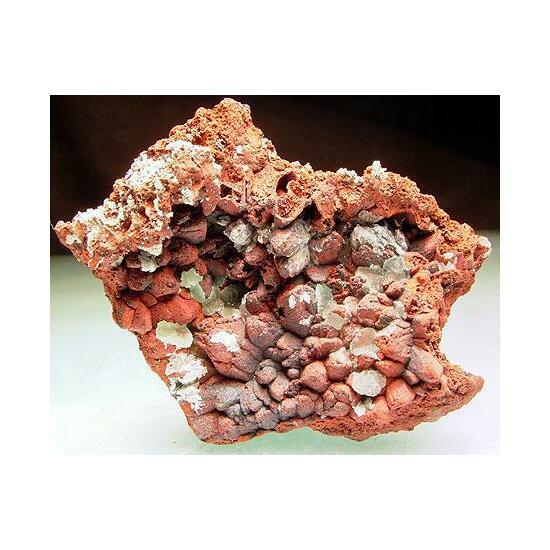 Lepidocrocite Psm Calcite With Adamite