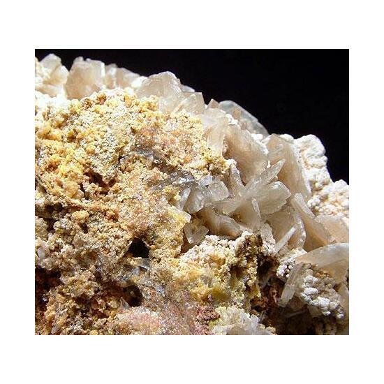 Baryte Mimetite Crandallite & Hemimorphite