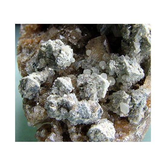 Cerussite Galena & Fluorite