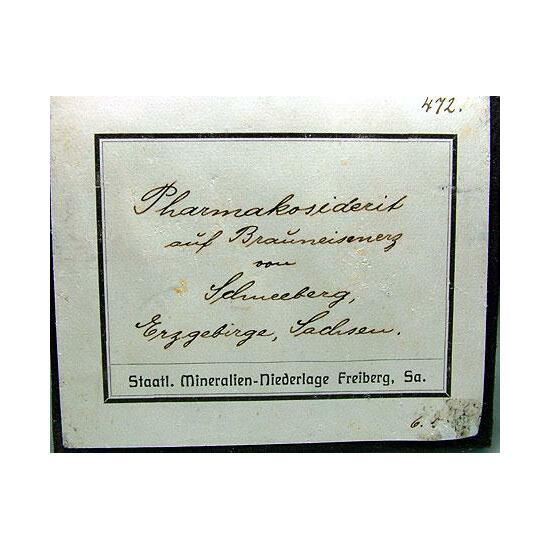 Pharmacosiderite
