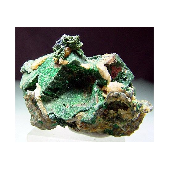 Pyrite & Brochantite