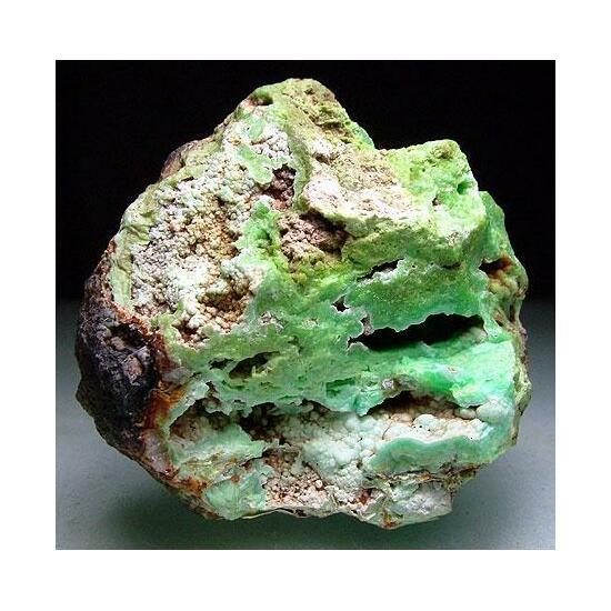 Pyrolusite & Hemimorphite