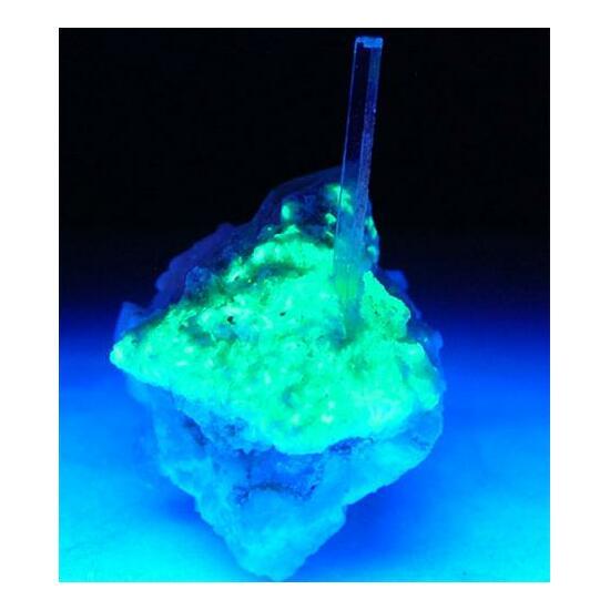 Aquamarine & Autunite