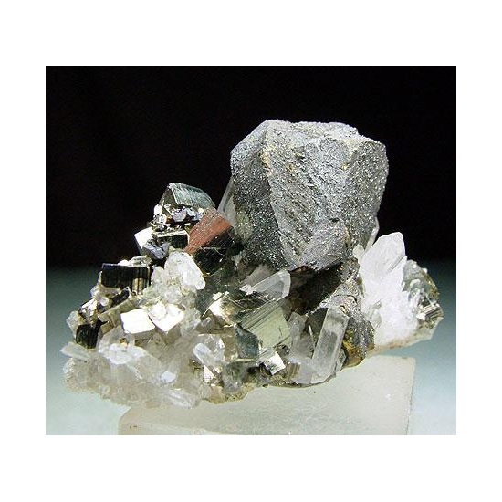 Chalcopyrite Pyrite & Quartz