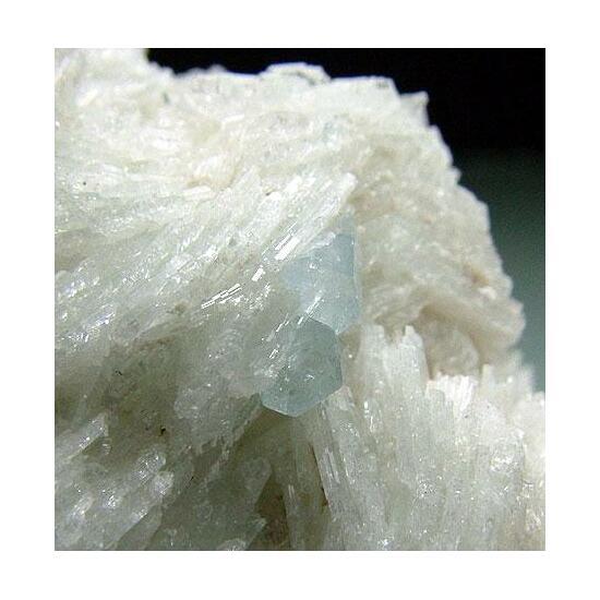 Cleavelandite & Aquamarine