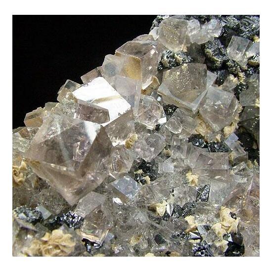 Fluorite Sphalerite & Ankerite