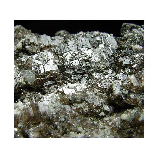 Quartz With Tourmaline & Vermiculite Inclusions