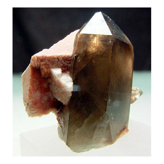 Smoky Quartz & Microcline