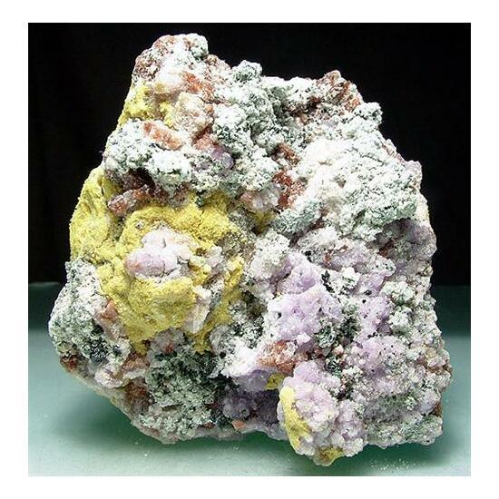 Coquimbite Copiapite Voltaite Römerite & Rhomboclase