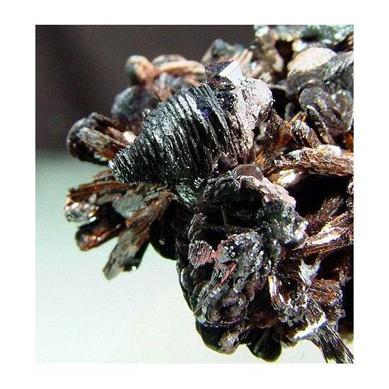 Goethite & Hematite With Amethyst