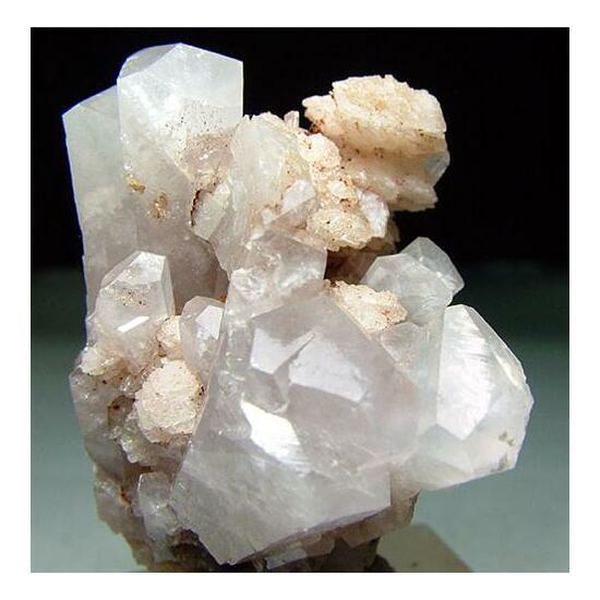 Manganoan Calcite & Calcite