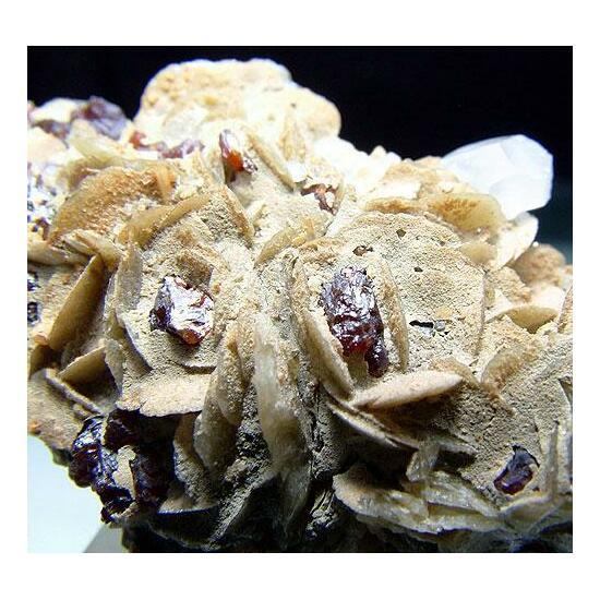 Siderite With Sphalerite & Calcite