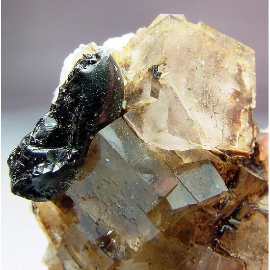 Fluorite & Elaterite