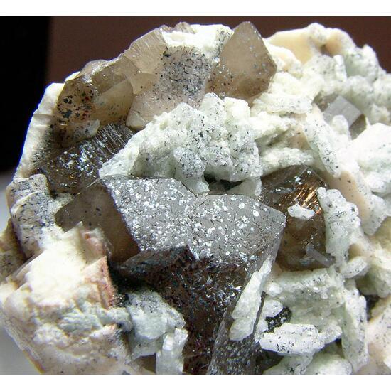 Microcline Smoky Quartz & Cleavelandite