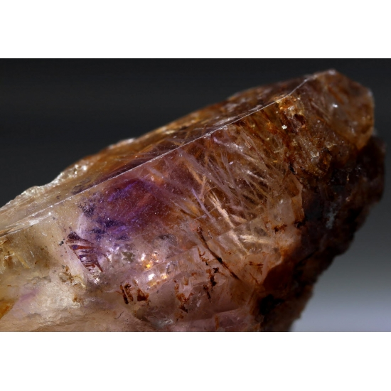 Amethyst With Laumontite Inclusions
