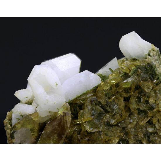 Titanite With Albite & Diopside