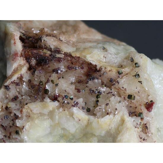 Cinnabar & Pyrite With Tennantite & Gortdrumite