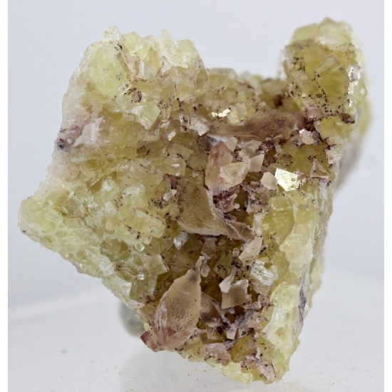 Dolomite With Calcite