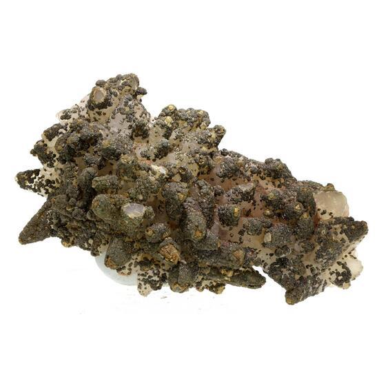 Hematite Calcite & Pyrite