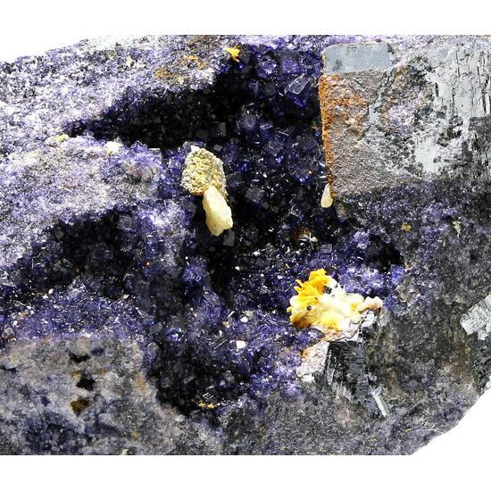 Fluorite Galena & Cerussite