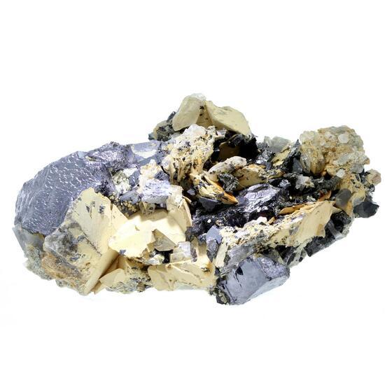 Galena Sphalerite & Manganoan Calcite