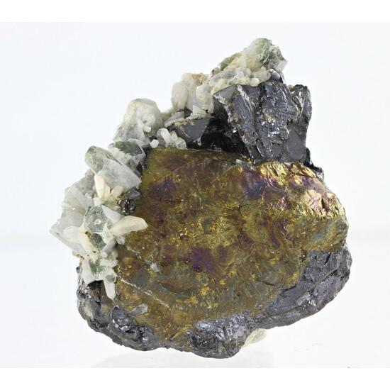 Chalcopyrite Quartz & Sphalerite
