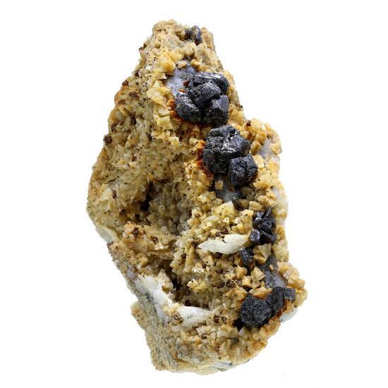Sphalerite Chalcopyrite & Dolomite