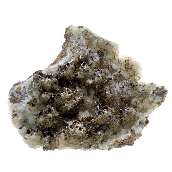 Endlichite & Calcite