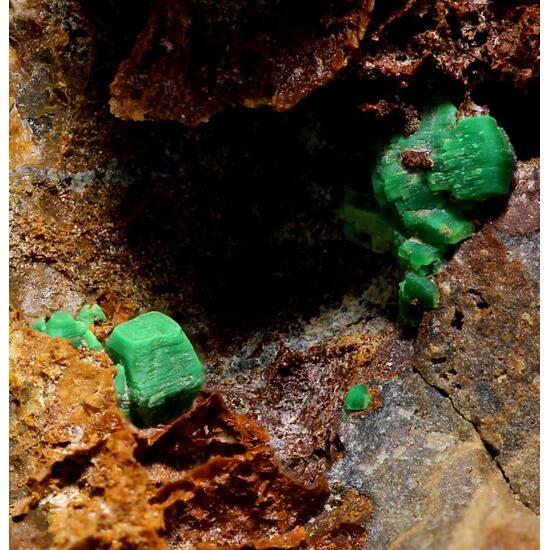 Torbernite & Zeunerite