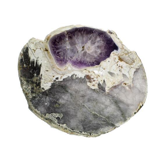 Porphyrkugel With Amethyst