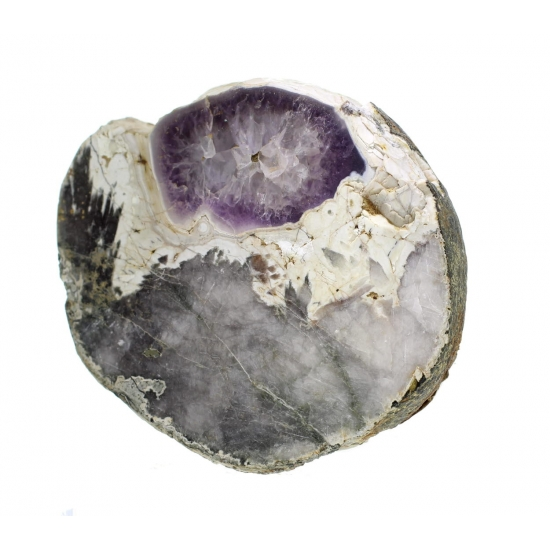 Porphyrkugel With Amethyst