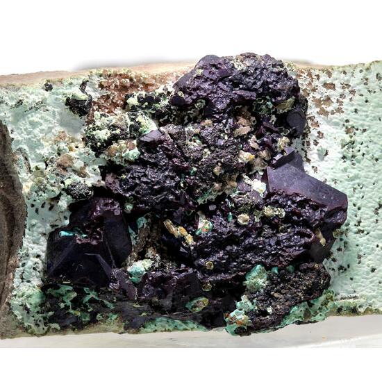 Cuprite & Chrysocolla